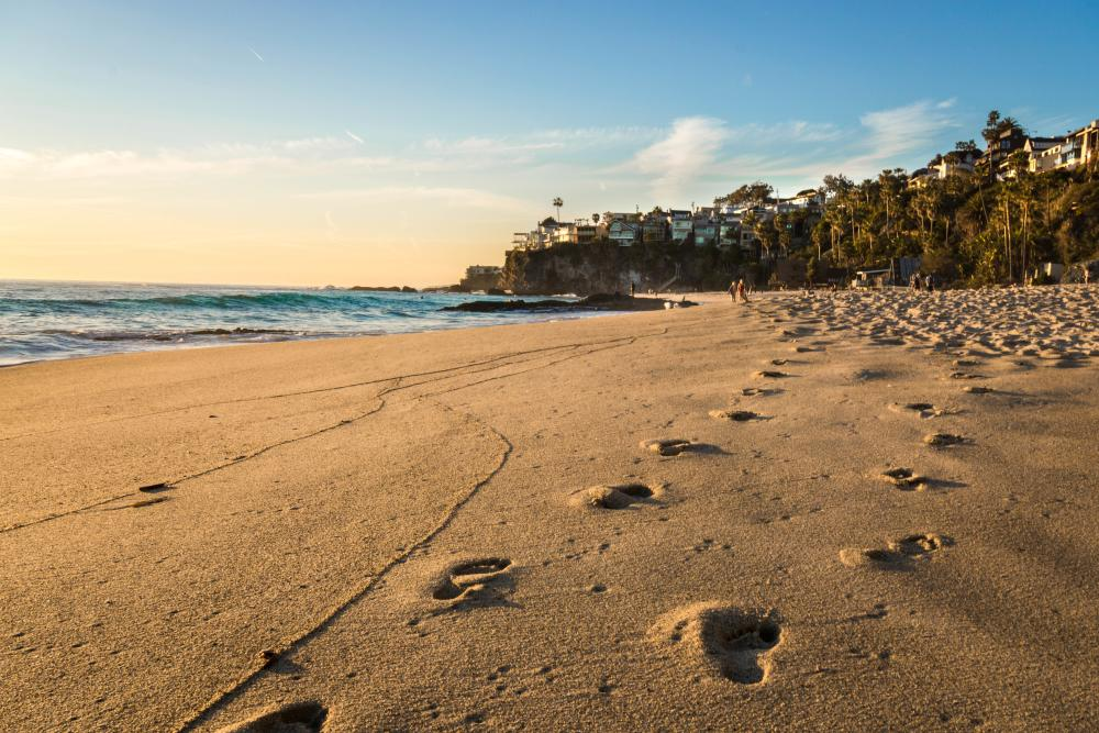 1,000 Steps Beach at Laguna Beach