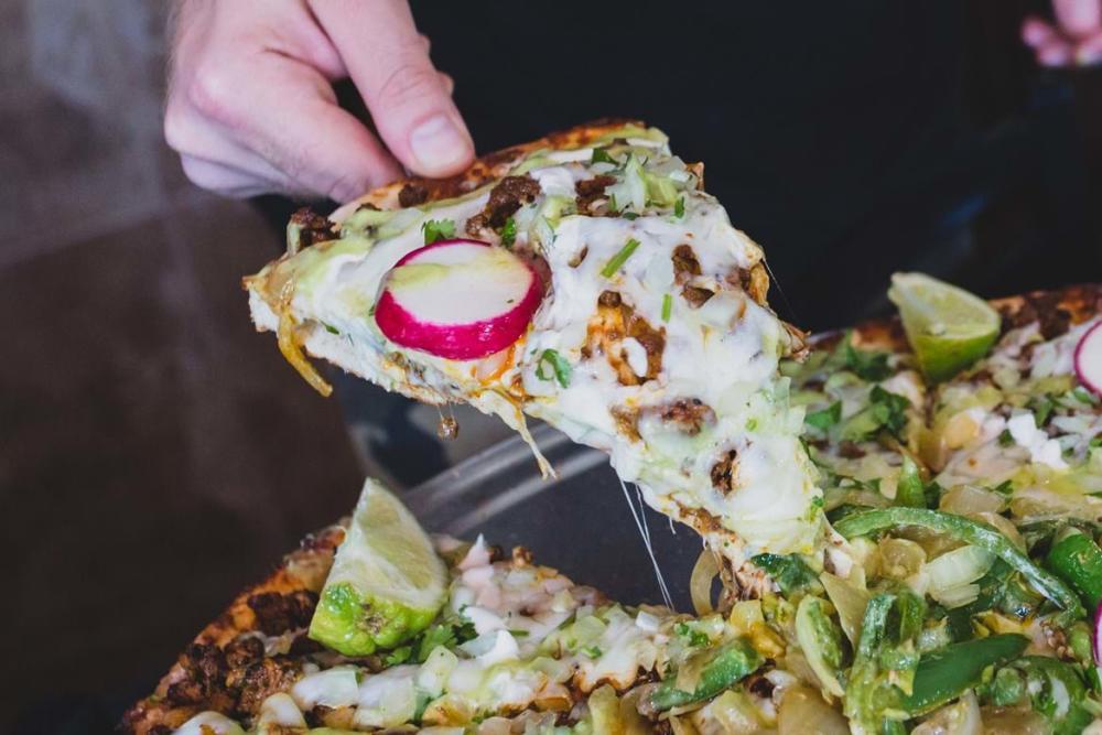 The La Mexicana pizza