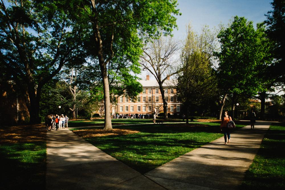 North Campus Quad at University of Georgia in Athens, GA