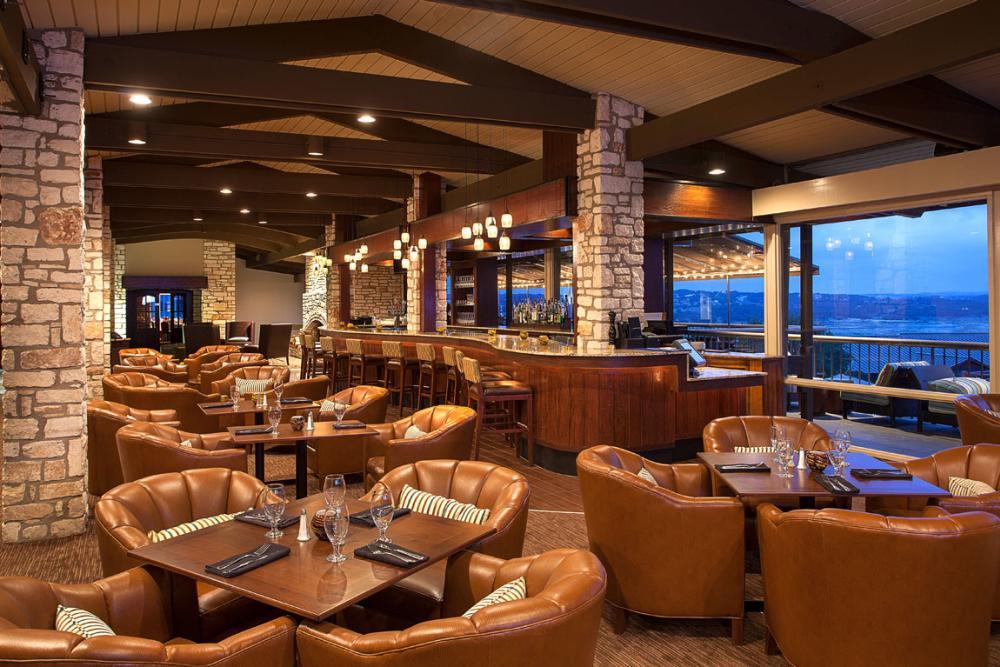 TR Restaurant at Lakeway Resort and spa near austin texas