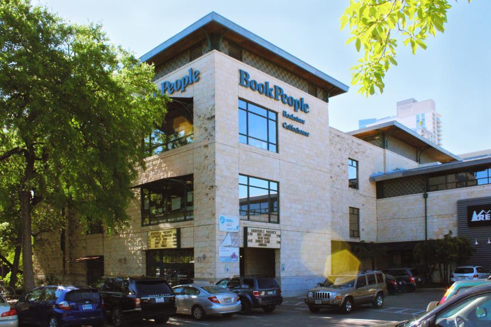 BookPeople Storefront in Austin Texas