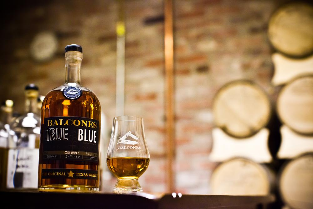 Balcones True Blue Corn Whisky from Balcones Distilling in Waco Texas