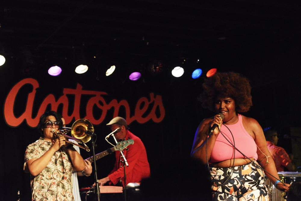 The Suffers band at Antones for Hot Luck Fest in Austin Texas