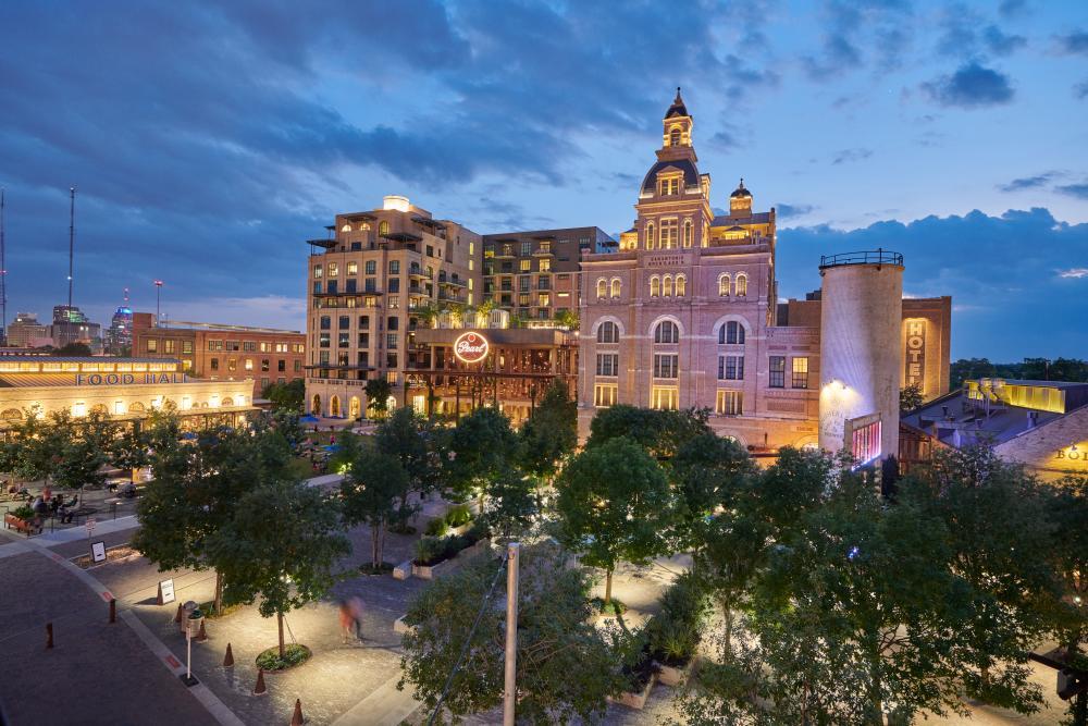 The Pearl district in San Antonio Texas