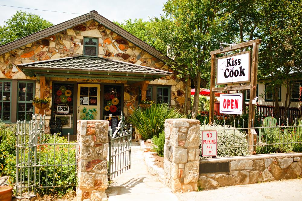 Kiss the Cook store in Wimberley Texas