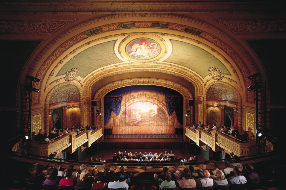 Interior of the Paramount Theater in Austin Texas