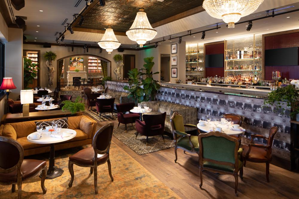 Group Therapy restaurant at Hotel Zaza in Austin Texas