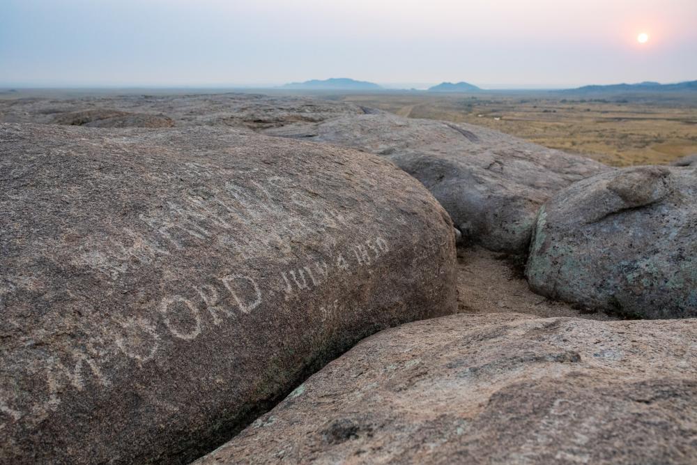 Independence Rock Pioneer History Casper, WY