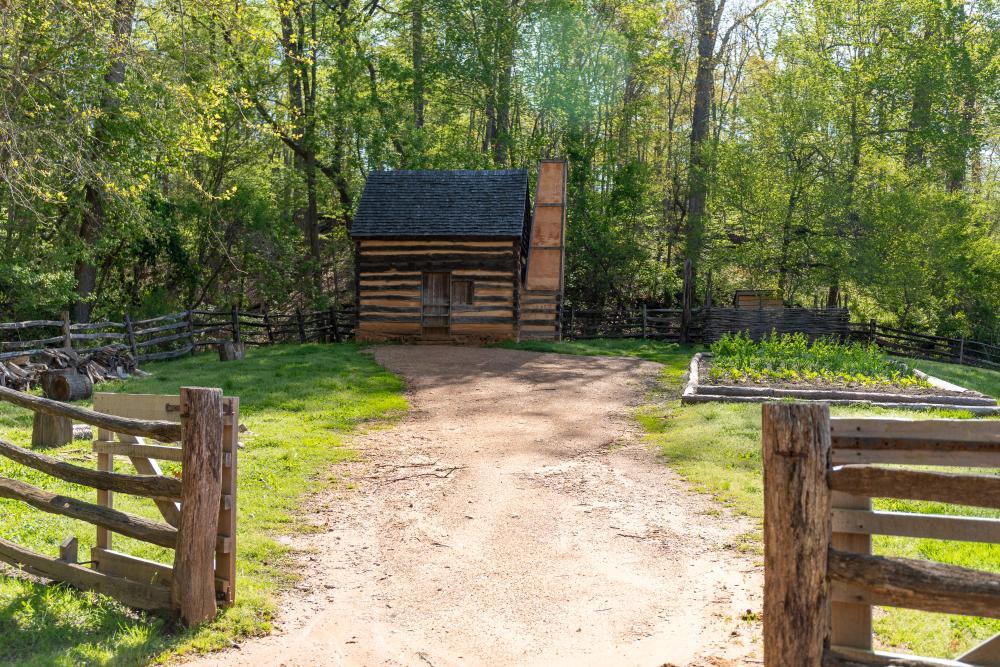 Slave Cabin at George Washington's Mount Vernon