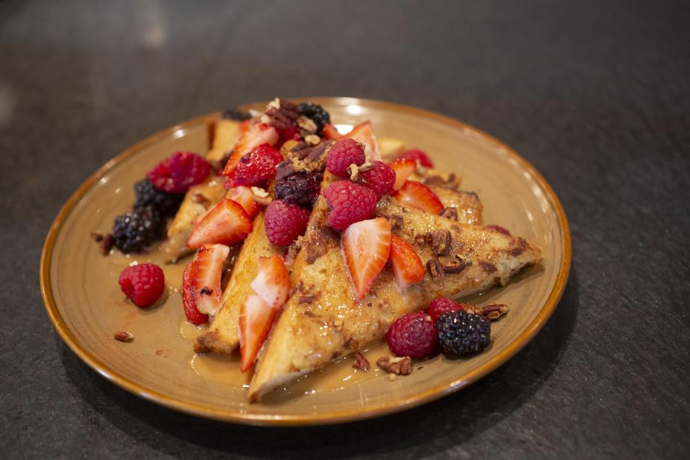 Dulce de Leche French Toast at Proximo in Fort Wayne, Indiana