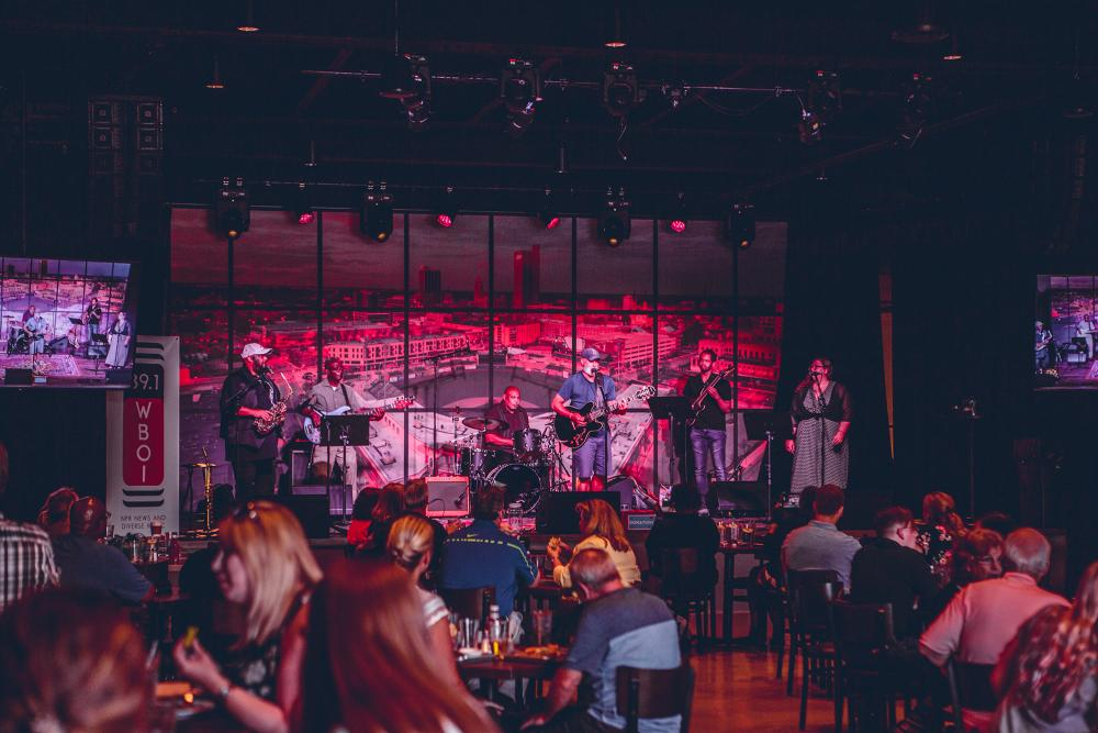 Live music at the Club Room at the Clyde Theatre