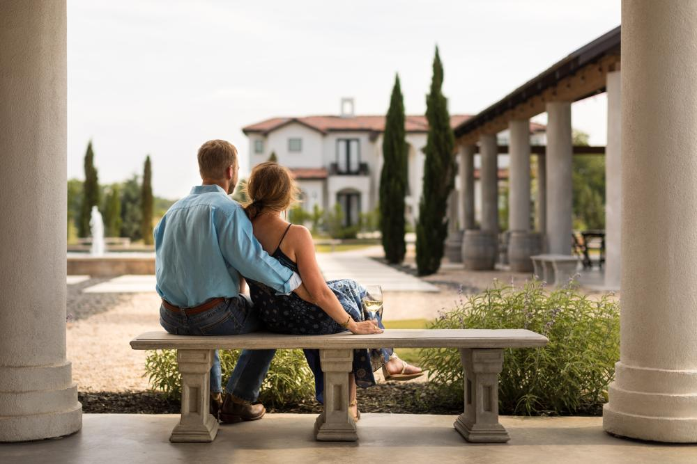 Romance at Barons Creek Vineyards
