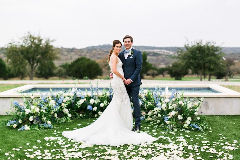 Sunset Ranch Event Center Outdoor wedding
