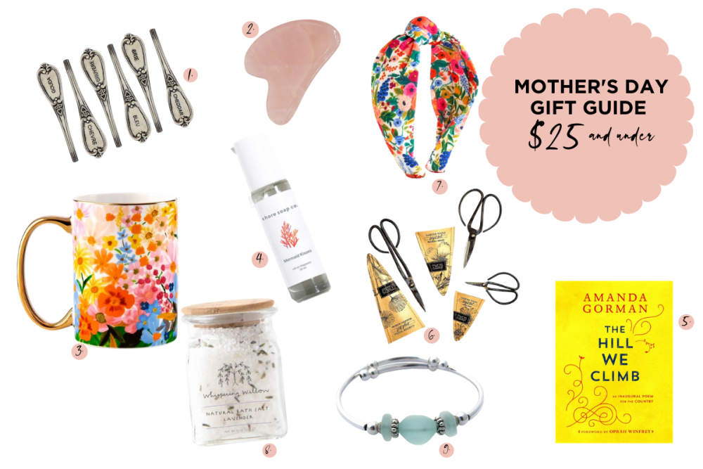 Mother's Day Gift Guide $25 and Under