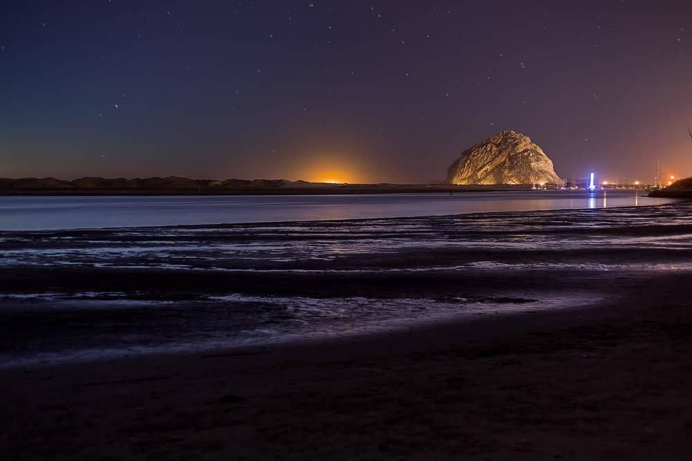 Morro Rock Night
