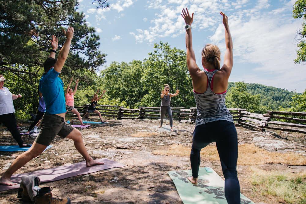Yoga Hike & Winery