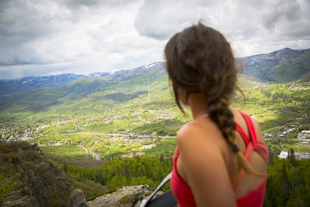 Emerald Mountain offers great views of Mt. Werner, Steamboat Springs and the Yampa Valley