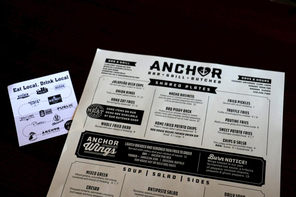 The Anchor - Eat Local Shop Local