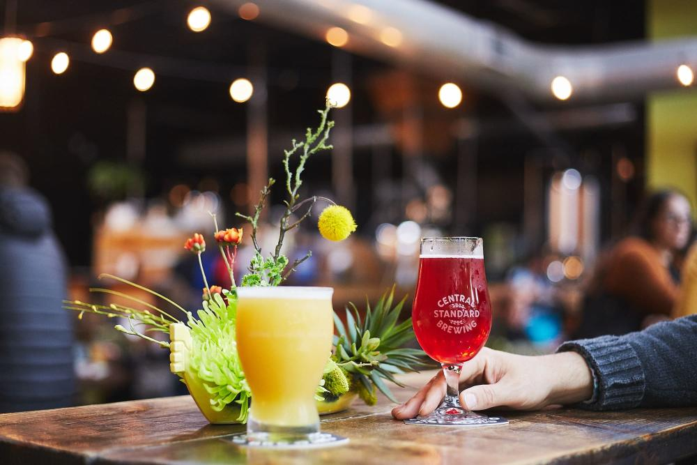 Craft Beers at Central Standard Brewing