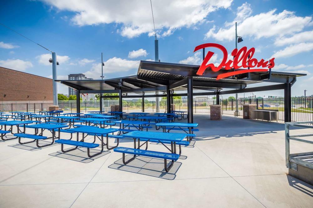 Dillon's Picnic Patio at Riverfront Stadium