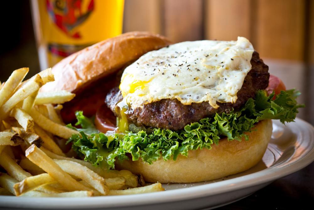 The Anchor Egg Hamburger