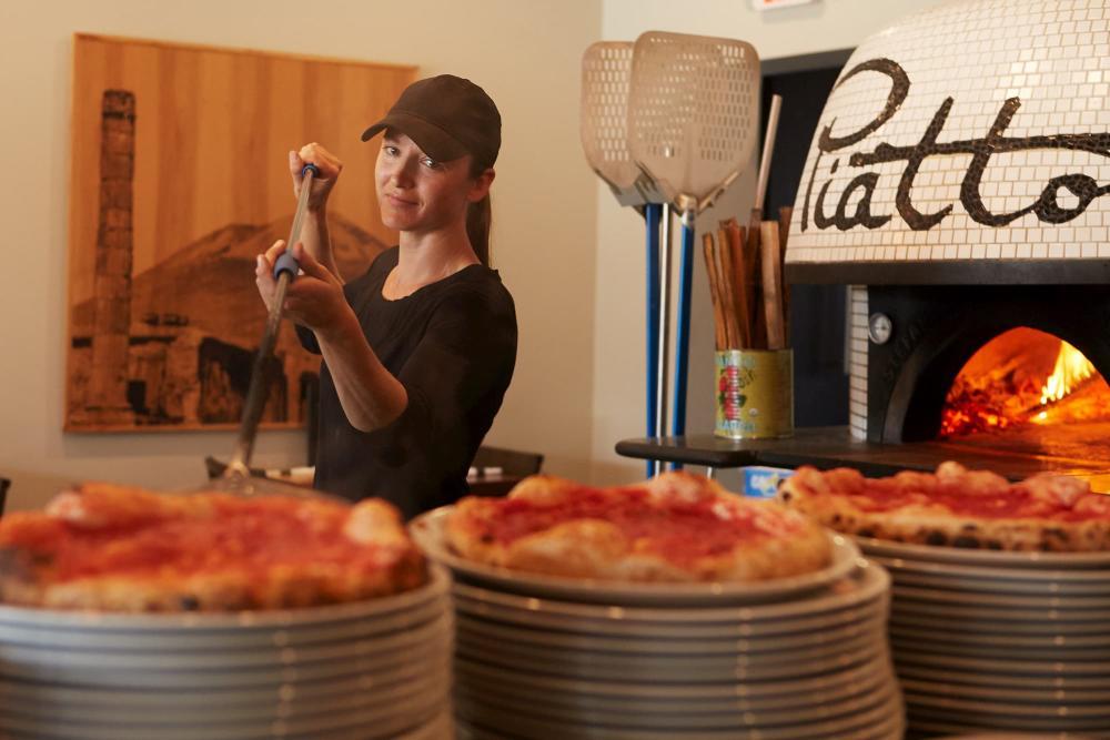 Fresh Pizza from Piatto Neapolitan Pizzeria