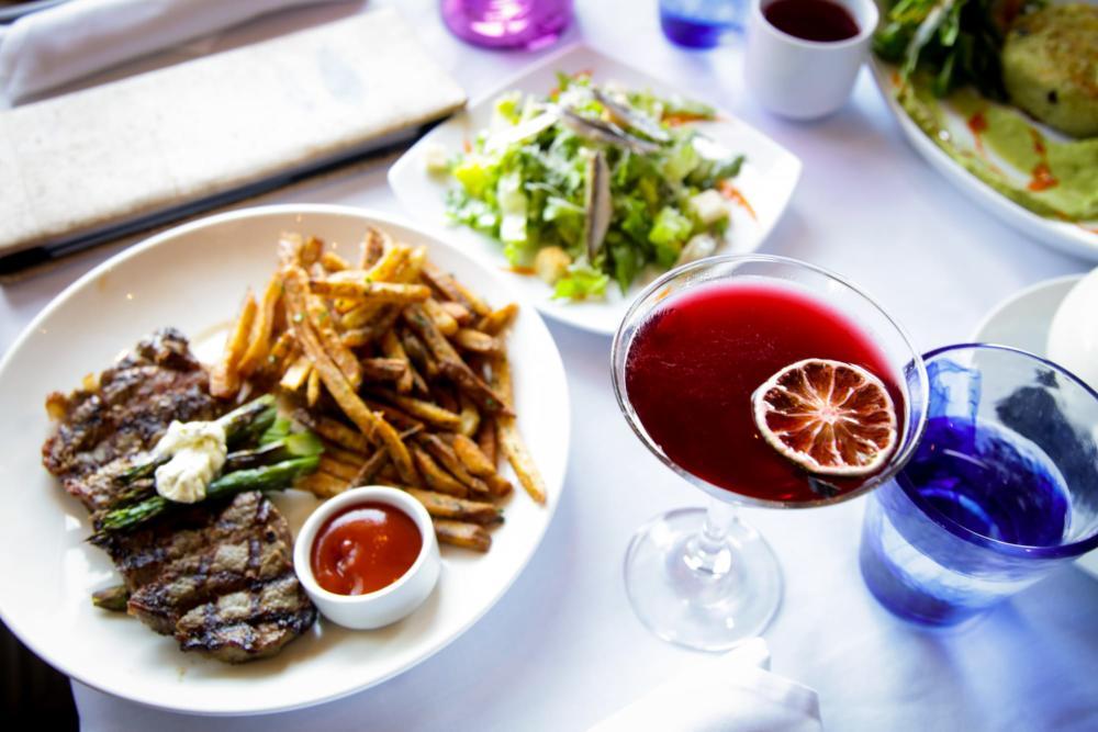 Steak Dinner from Newport Grill