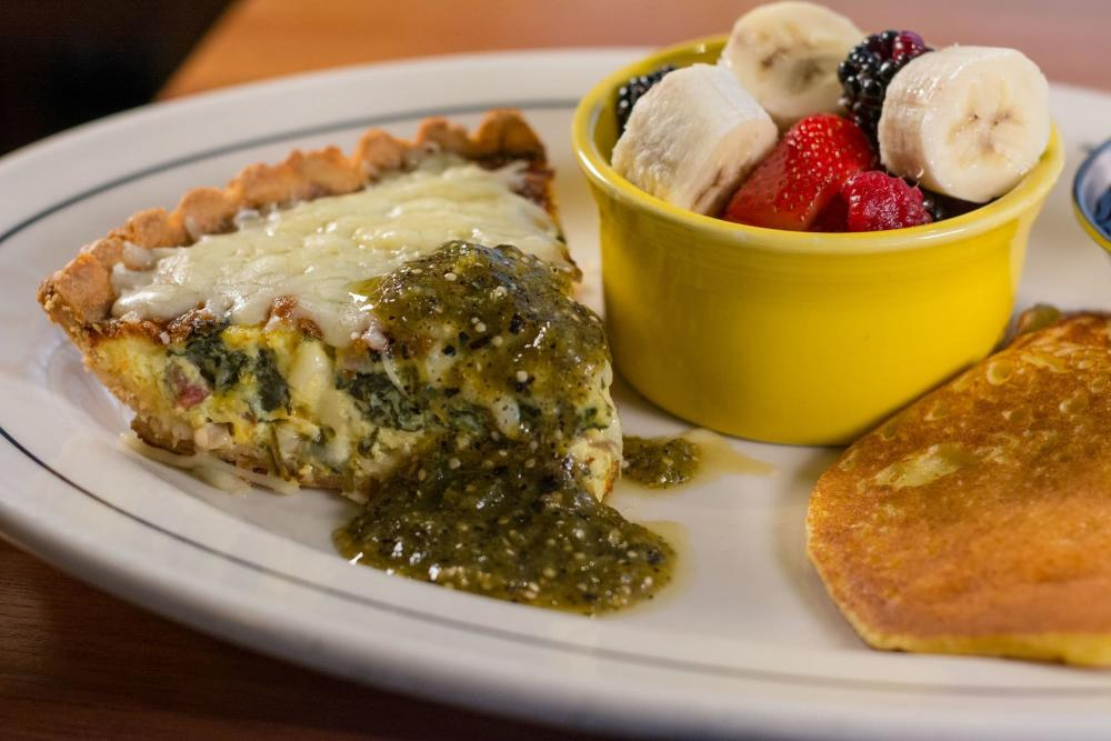 Quiche for Brunch at Redrock Canyon Grill