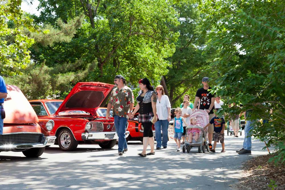 Sedgwick County Zoo Father's Day Car Show