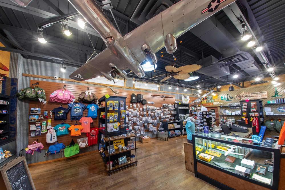 Gift Shop at Yingling Aviation