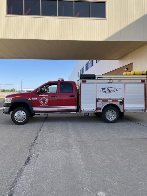 GFD fire truck