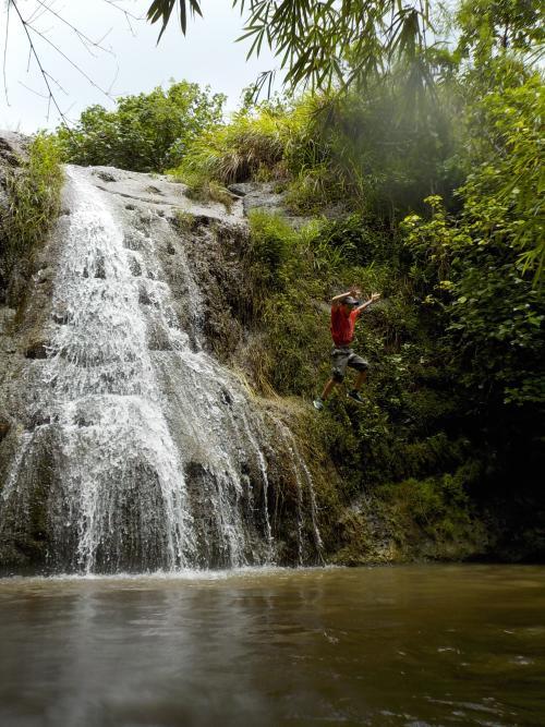 Malojloj Falls - Guam Boonie Stompers