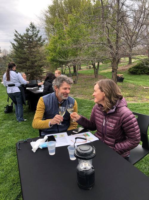 Wine Tasting at the Overland Park Arboretum