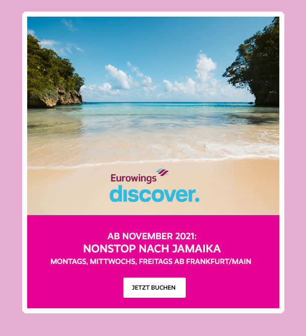 EuroWings Germany Travel Deals Banner