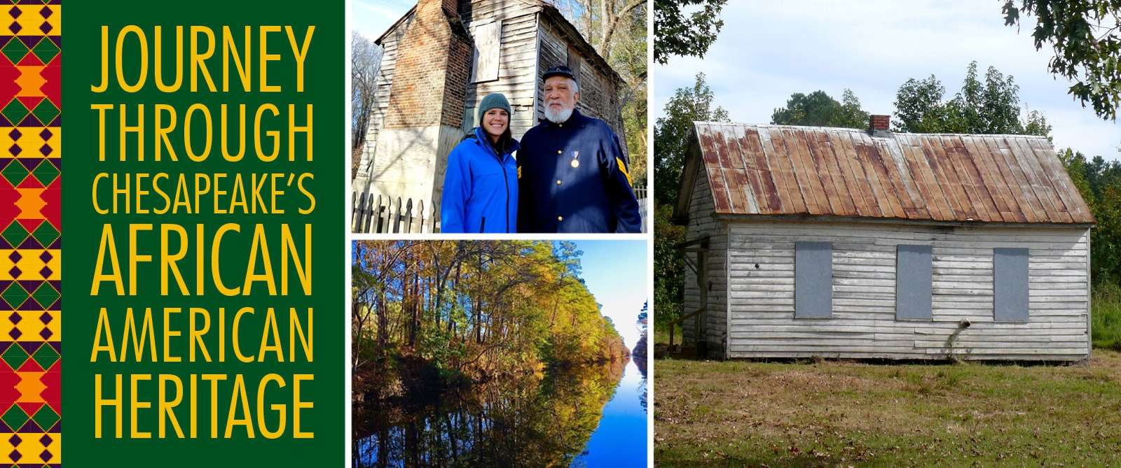African American Heritage Trail collage