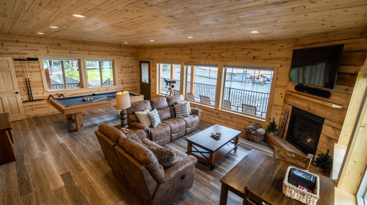 Pybus Point Lodge Interior