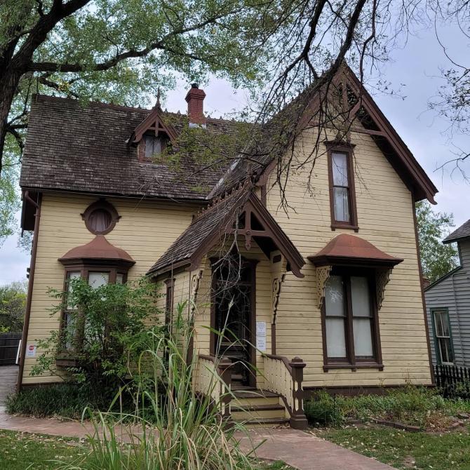 Old Cowtown Museum's Murdock House in Wichita, KS