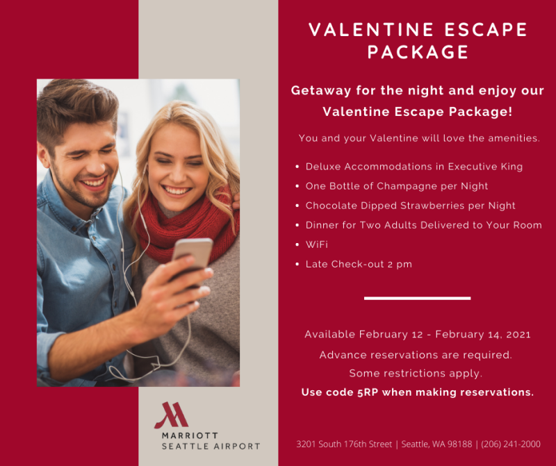 Valentine Escape Package promo