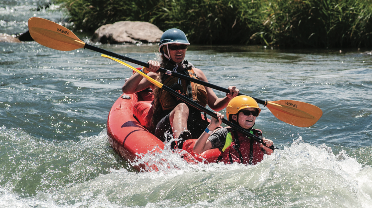 Whitewater rafting in Montrose, Colorado