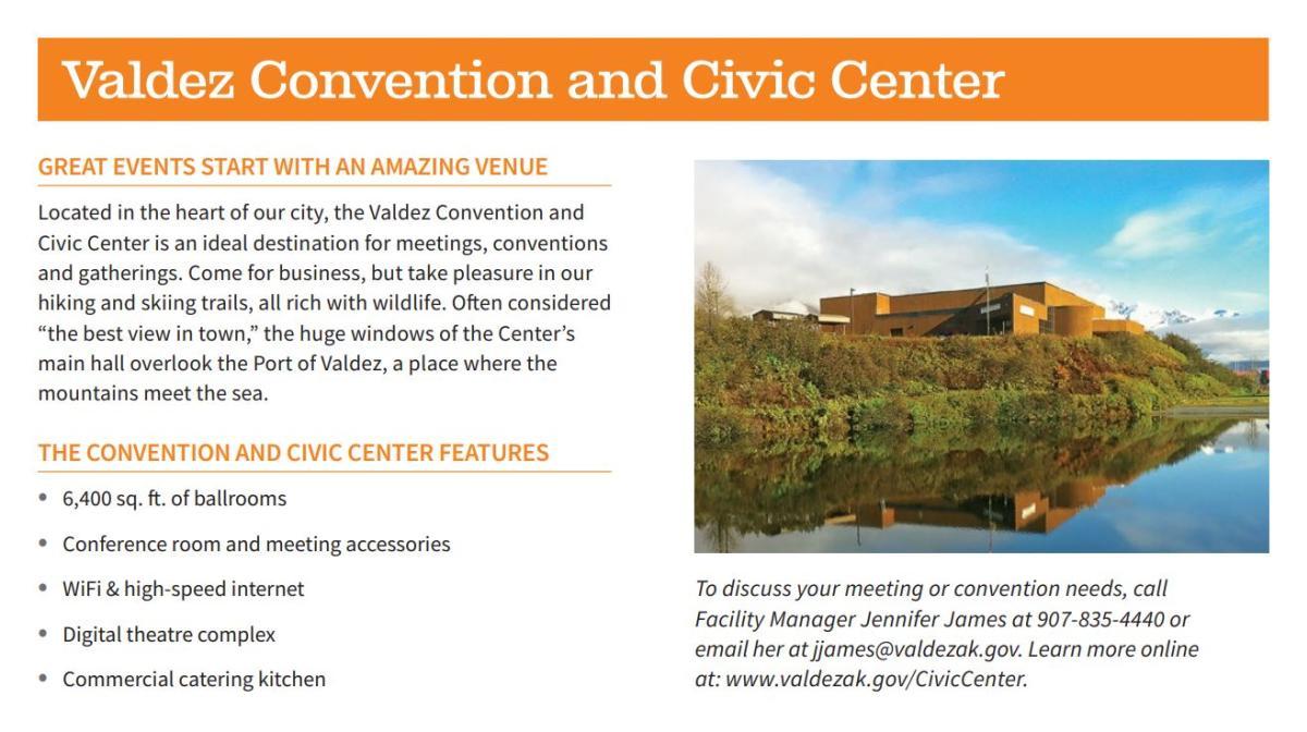 Valdez Convention & Civic Center Details