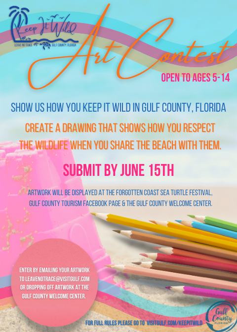 colorful poster for a art contest