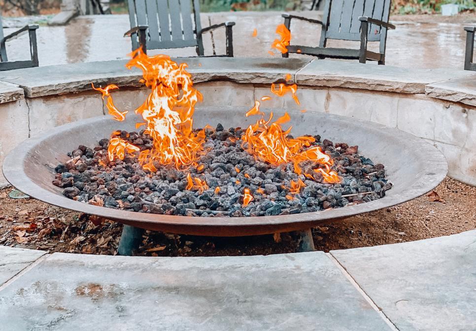 Fire Pit at Hyatt Regency Lost Pines