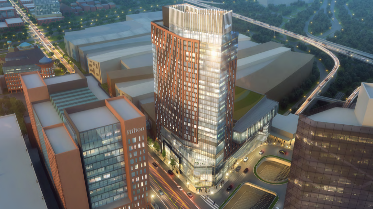 Hilton Expansion in Downtown Columbus