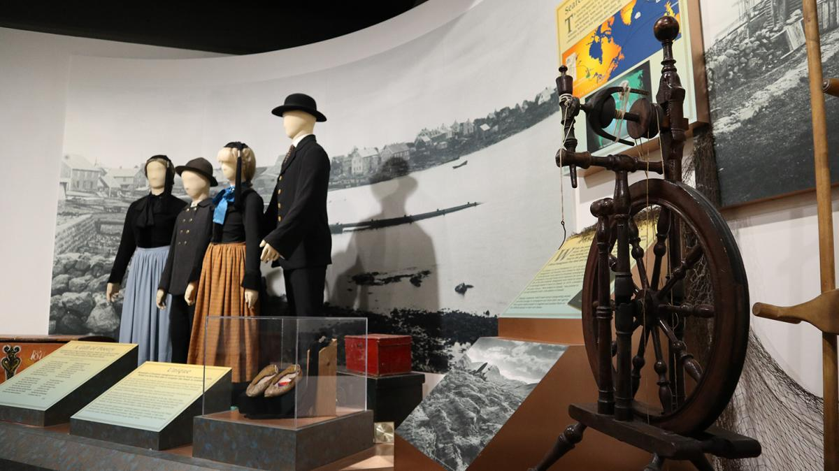 Exhibit at the New Iceland Heritage Museum