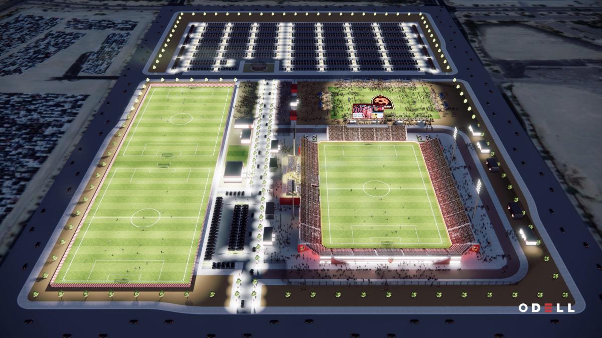 Phoenix Rising FC - Stadium Aerial