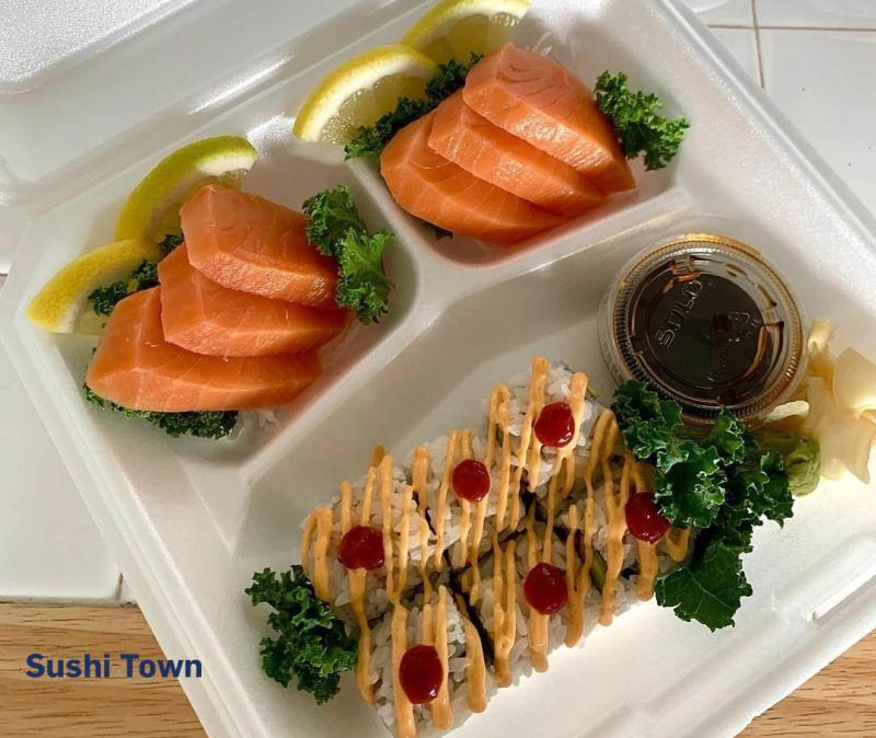 Sushi Town takeout