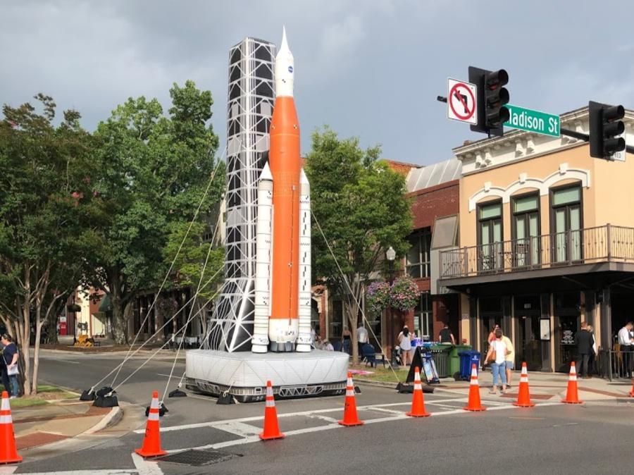 SLS Apollo 50 Party Downtown Huntsville