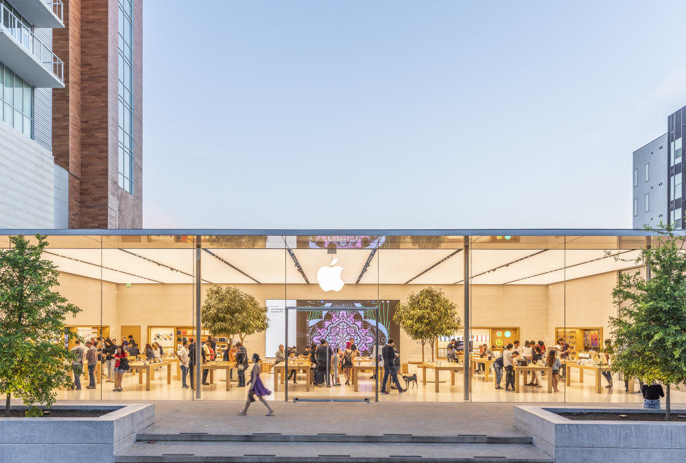 Apple Store at Domain NORTHSIDE in austin texas