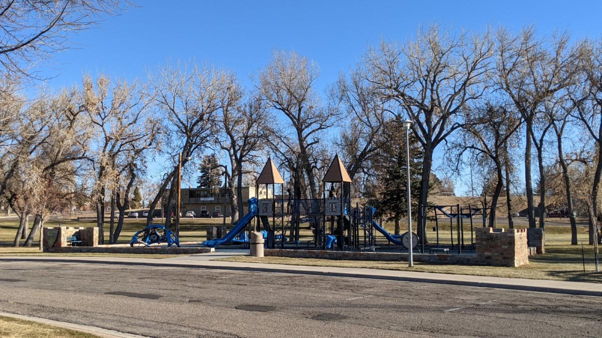 Kastle 'n' Kids Playground, Holliday Park, Cheyenne, Wyoming