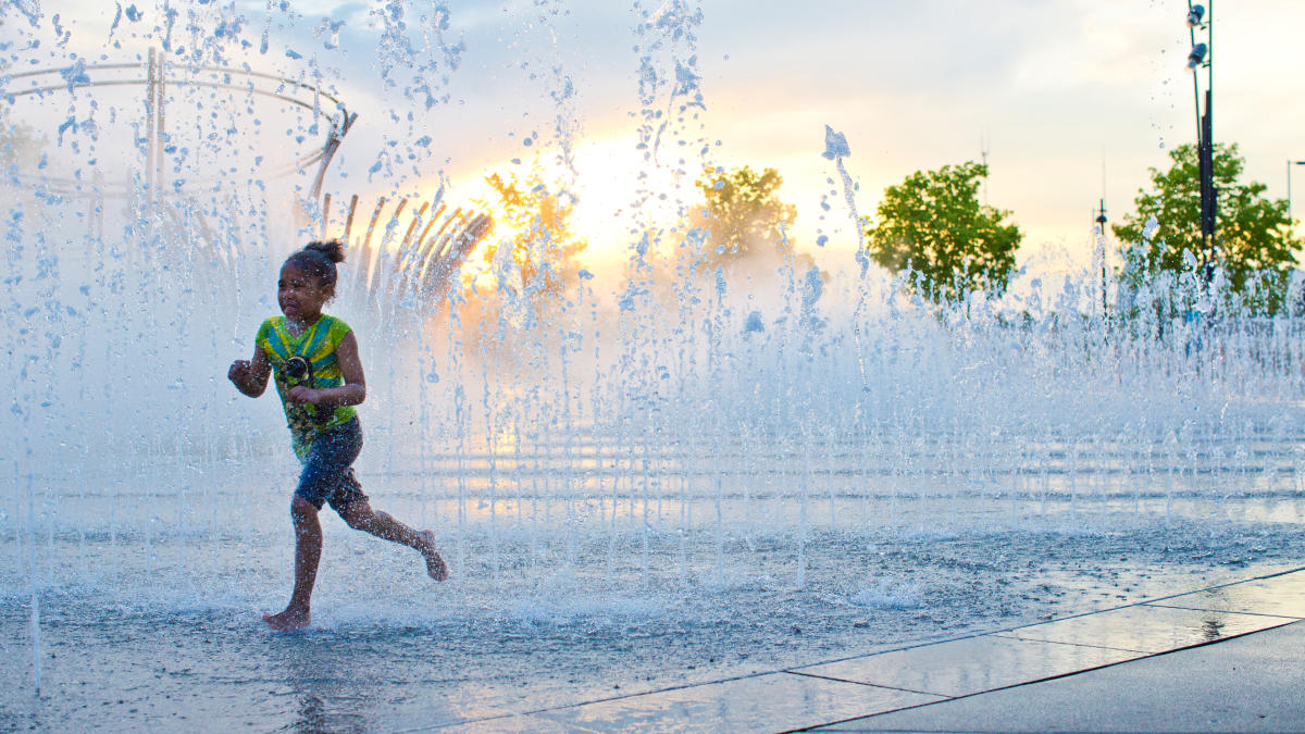 Scioto Mile Fountains
